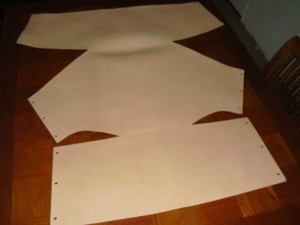 Tuigleer-Artifort-444-blank-leer