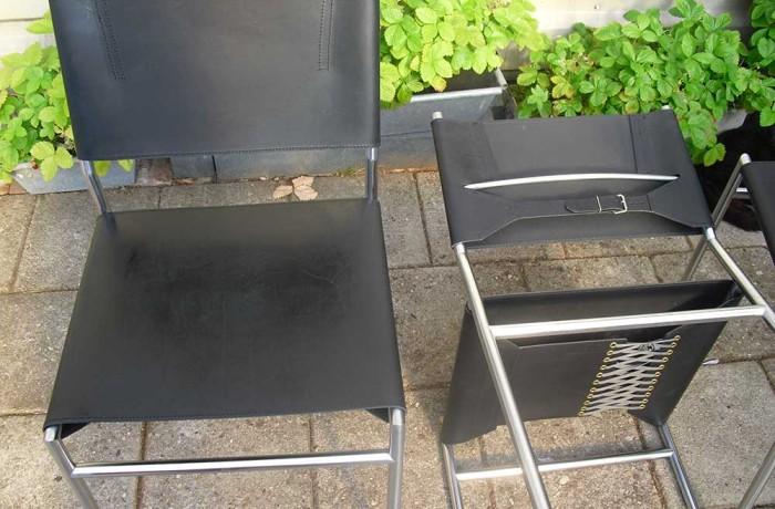 Martin Visser SE05 stoel bekleden