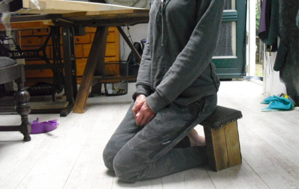 Meditatie bankje / krukje