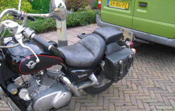 Kawasaki Vulcan motorzadels verkleinen