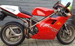 Ducati 916 sps opgehoogd zadel