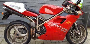 Ducati 916 sps zadel ophogen
