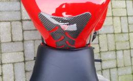 Ducati 916 sps vooral opgehoogde voorkant