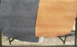 Nubuck tuigleer kleur 1015 en 2815